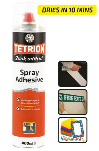 Tetrion Spray Adhesive
