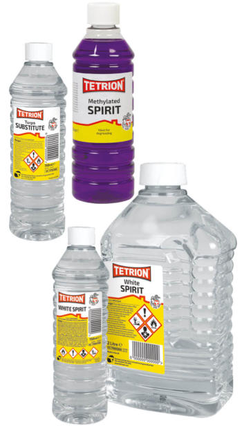 Turps Substitute, White Spirit & Methylated Spirit